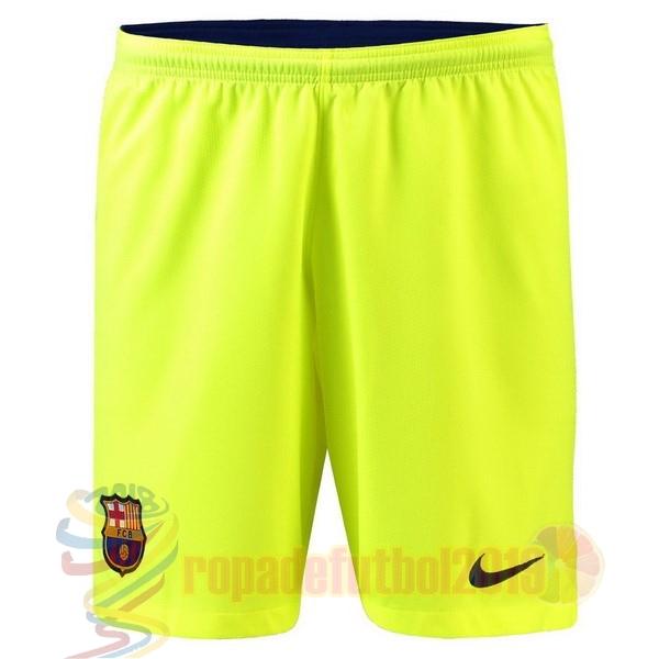 1eb42a74b8db7 Mejores Tienda Camisetas Segunda Pantalones Barcelona 2018 2019 Verde