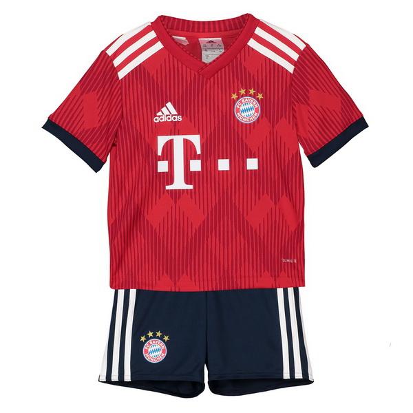 41d4cd9158aee Mejores Tienda Camisetas Casa Conjunto De Niños Bayern De Múnich 2018 2019  Rojo