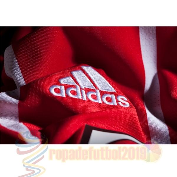 ... Mejores Tienda Camisetas Casa Camiseta Bayern De Múnich 2017 2018 Rojo  ... 3f0271d2877ba