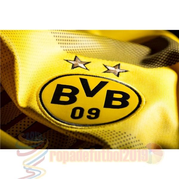 ... Mejores Tienda Camisetas Casa Camiseta Borussia Dortmund 2017 2018  Amarillo ... 3bb387066ba4c