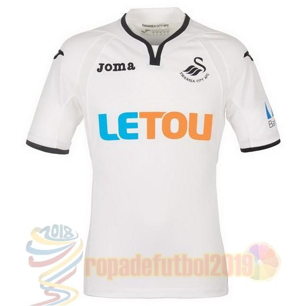 Trajes De Futbol - Mejores Tienda Camisetas Casa Camiseta Swansea ... 3d56b55c8e501