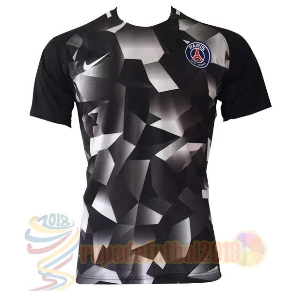 Mejores Tienda Camisetas Entrenamiento Paris Saint Germain 2017 2018 Gris d629f8031a066