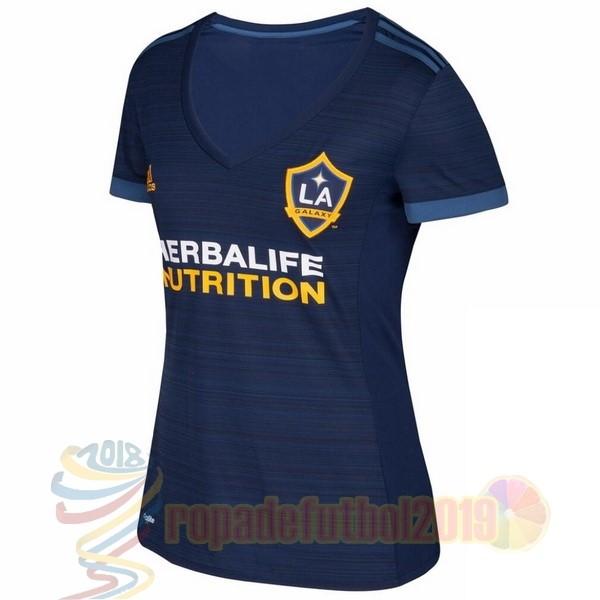Mejores Tienda Camisetas Segunda Camiseta Mujer Los Angeles Galaxy 2017  2018 Azul e5cc2a89b19b8